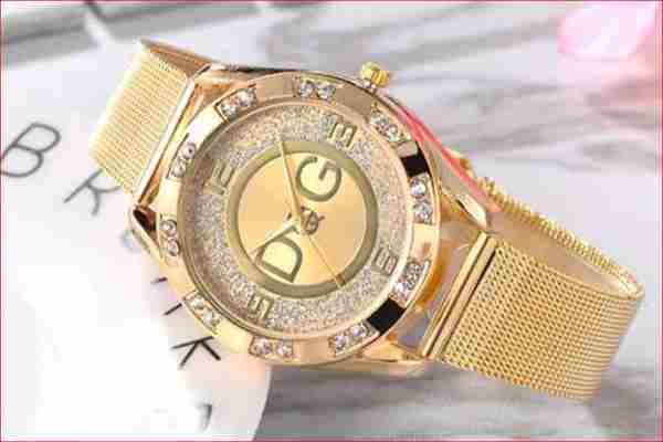 Złoty zegarek Damski Dębno  za 9 zł Kup teraz