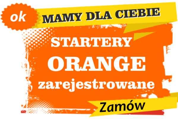 Sprzedam zarejestrowane karty sim orange Kowalewo Pomorskie  zadzwoń 887 332 665