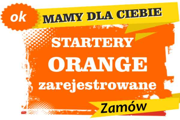 Sprzedam zarejestrowane karty sim orange Włoszczowa  zadzwoń 887 332 665